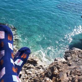 ing és cipő mintás zokni
