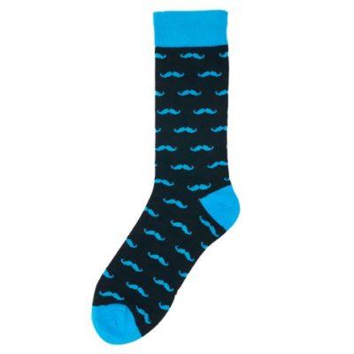 bajszos zokni