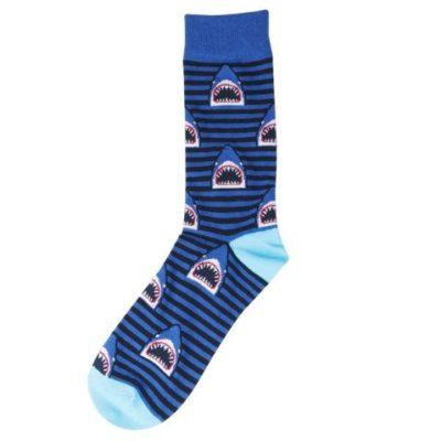 cápás zokni