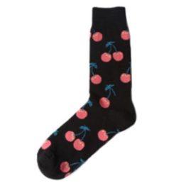 cseresznyés zokni