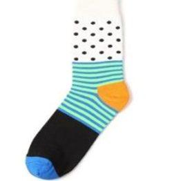 fehér pöttyös zokni