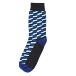lila térhatású zokni