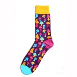 színes gombás zokni