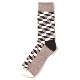 térhatású zokni (szürke)