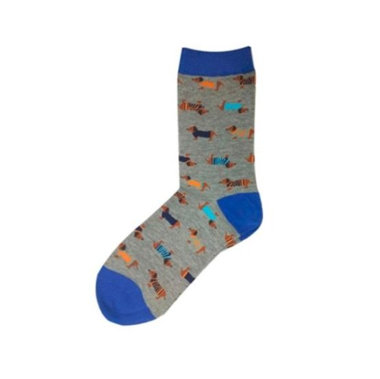 tacsis zokni kék