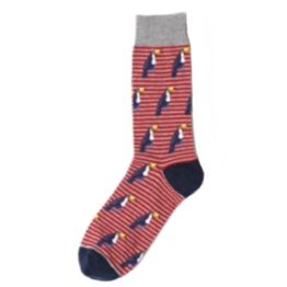 tukános csíkos zokni