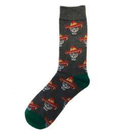 halálfejes zokni