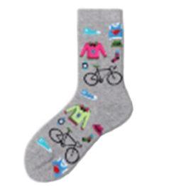 női biciklis zokni