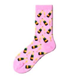 pezsgős zokni