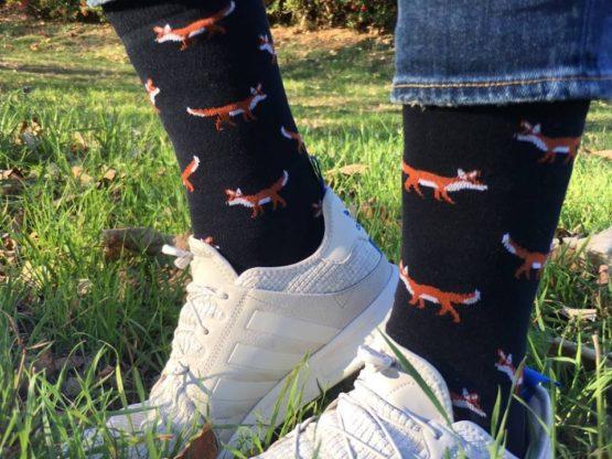 rókás zokni