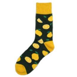sötét citromos zokni