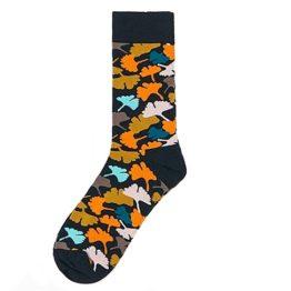 őszi leveles zokni