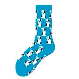 dalmatás zokni