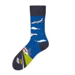 repülőgépes zokni