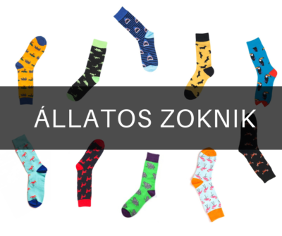állatos zoknik