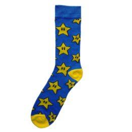 csillagos zokni