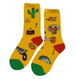 extrém mexikói zokni