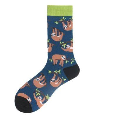 kék lajháros zokni