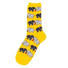 szerelmes elefantos zokni