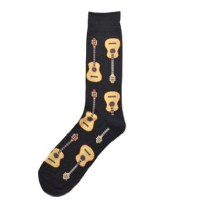 gitáros zokni