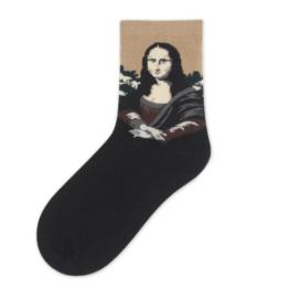 kis mona lisa zokni