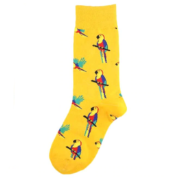 papagájos zokni